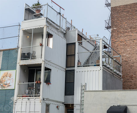 Shipping Container Home Brooklyn 1