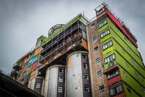Shipping Container Silo Student Housing 2