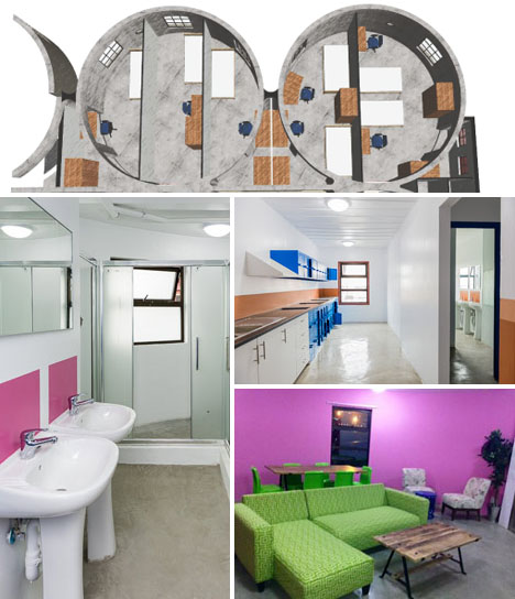 Shipping Container Silo Student Housing 3