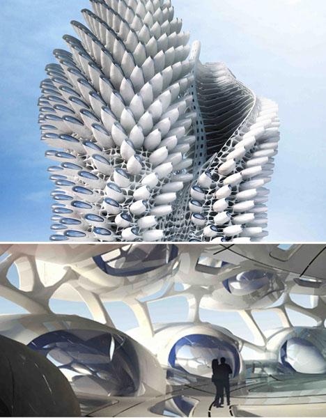 Spiral Architecture  Mangal City