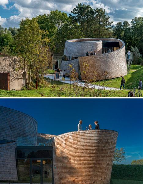 Spiral Architecture Paviljoen