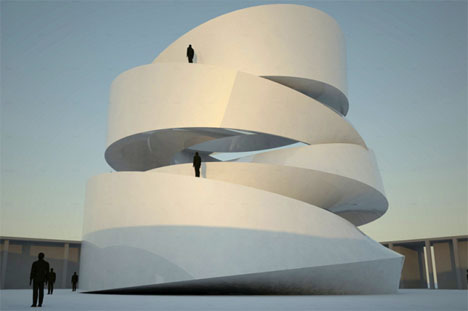 Spiral Architecture buddhist 1