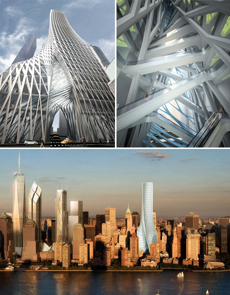 Spiraling Architecture Edgar Towers