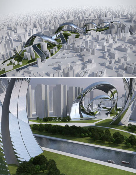 Spiraling Architecture Shanghai