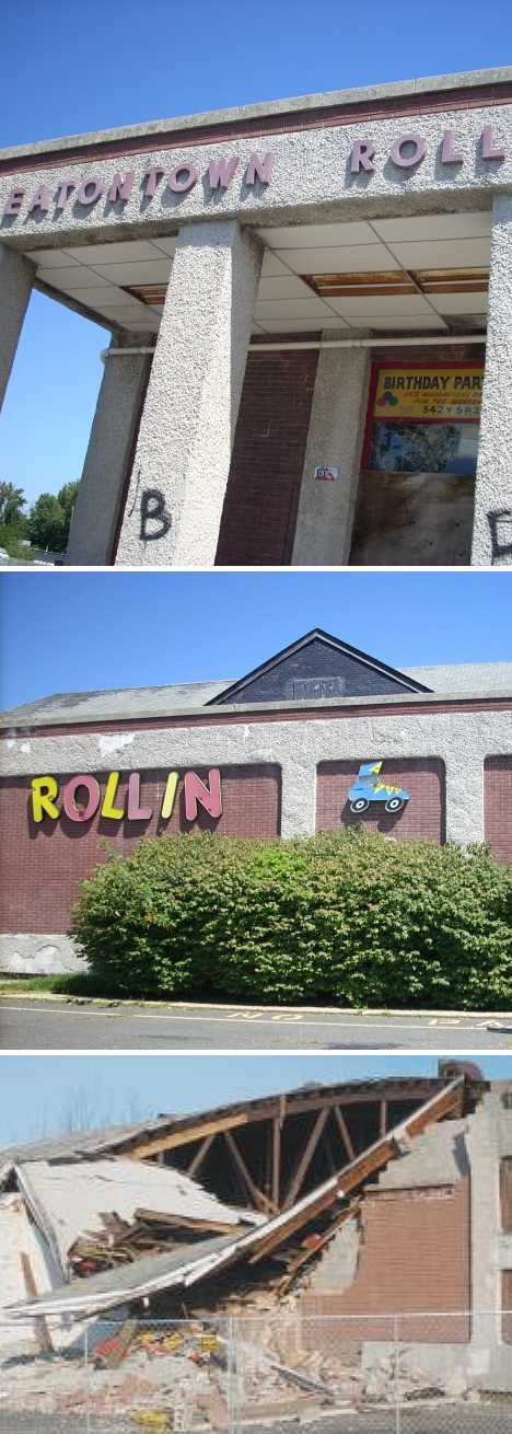 abandoned Eatontown Roller Rink