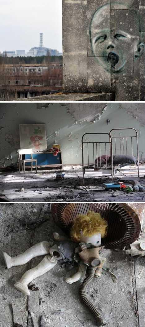 abandoned daycare center Pripyat Chernobyl