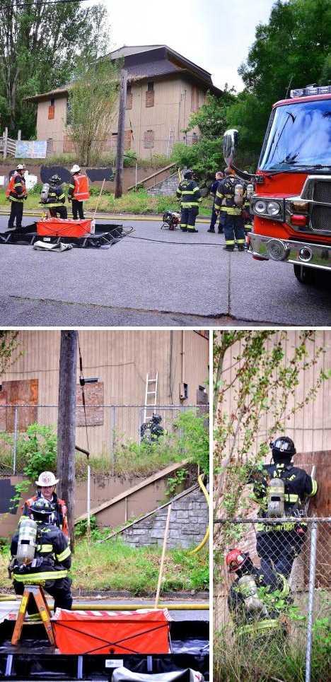 abandoned Seattle Avalon daycare center hazmat