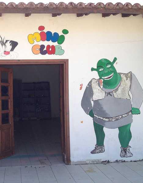 abandoned Shine Belek Turkey resort daycare center