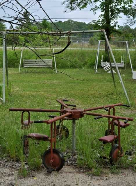 abandoned daycare center Hatchechubbee Alabama