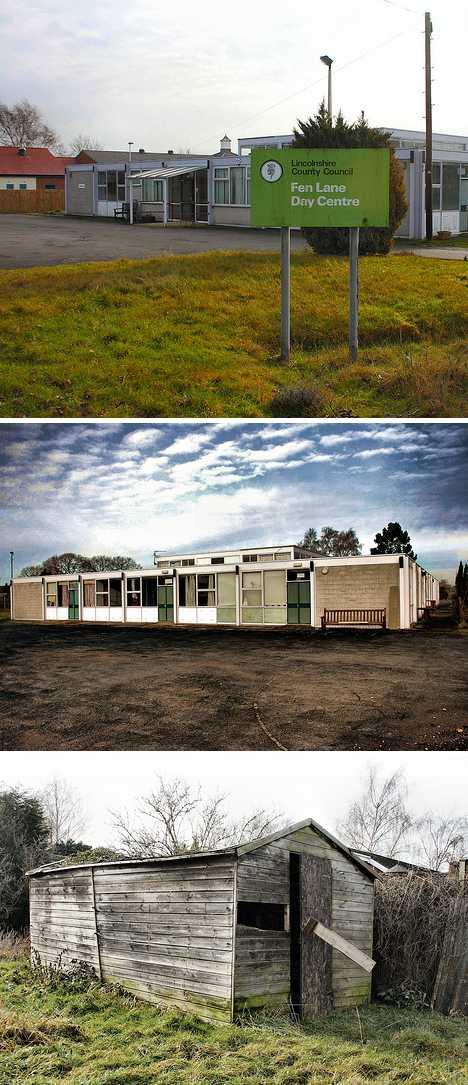 abandoned Fen Lane daycare centre Lincolnshire UK