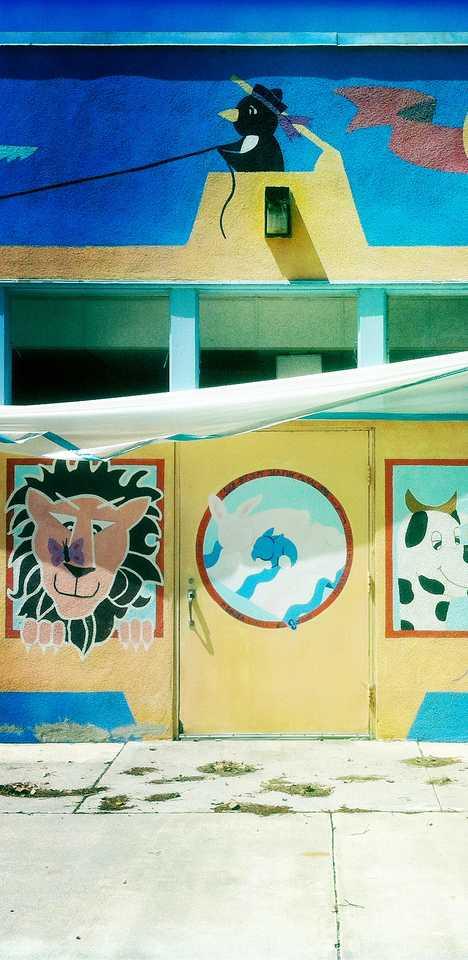abandoned daycare center Long Beach
