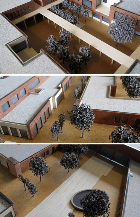 dimentia city architecture model