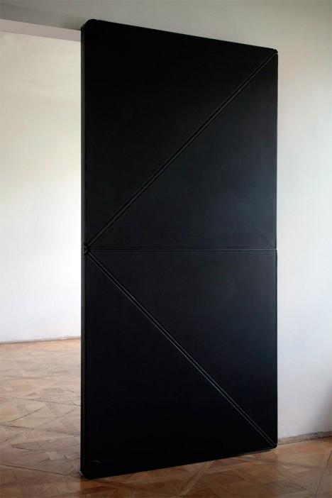 flip panel door design