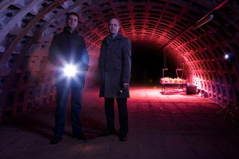 growing underground founder pair