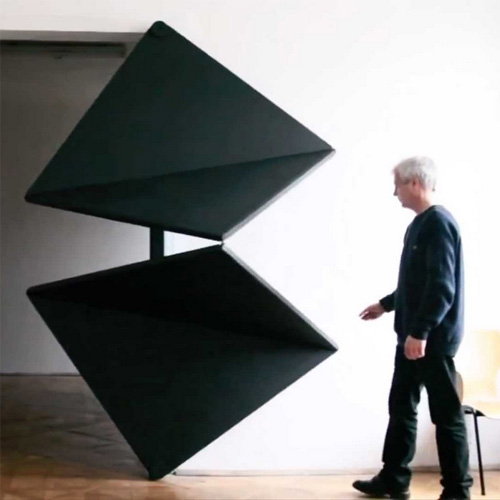Touch To Open Kinetic Doors Unfold Like Life Sized