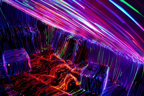 light art room interior