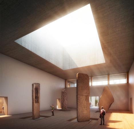 maya museum monolithic void