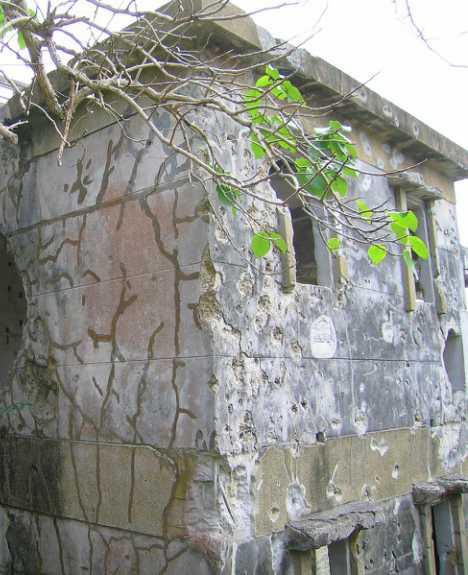Iejima Japan Okinawa abandoned pawnshop