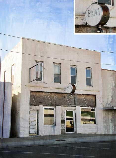 abandoned pawnshop Lakin Kansas