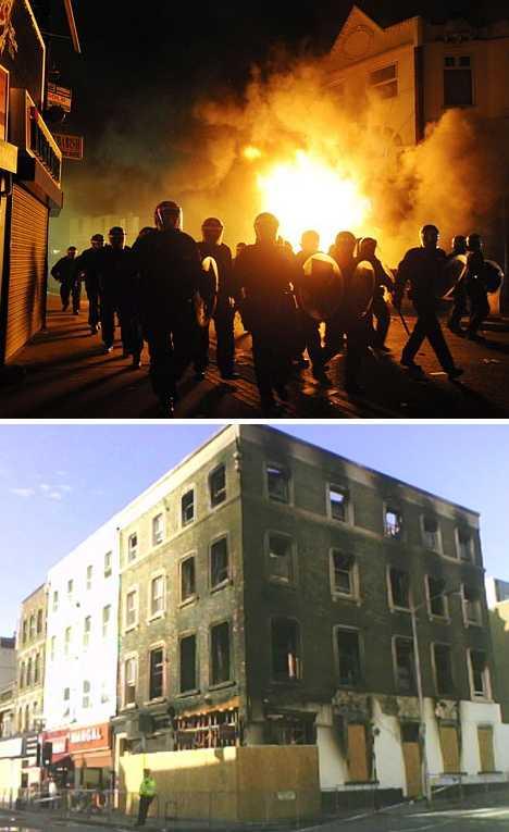 Albemarle & Bond pawnbrokers Croydon riots 2011