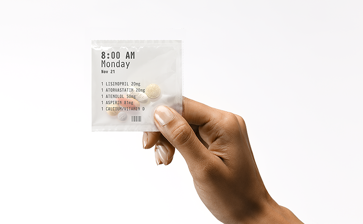 pill pack date stamp