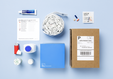 pill pack shipping contents