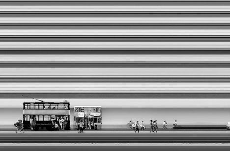 time photo black white