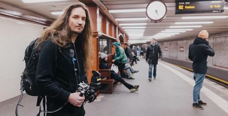 time photographer rail tracks