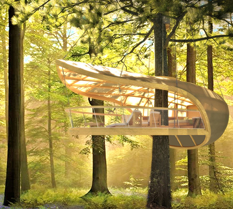 tree house in context