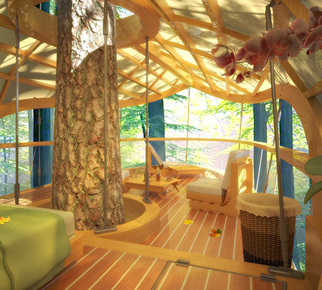 tree house shade structure