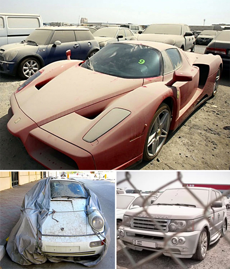 Abandoned Dubai Cars 1