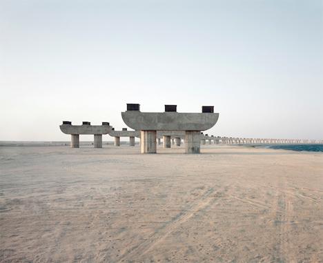 Abandoned Dubai Jebel Ali Flyover