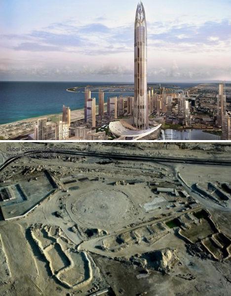 Abandoned Dubai Stalled Construction 1