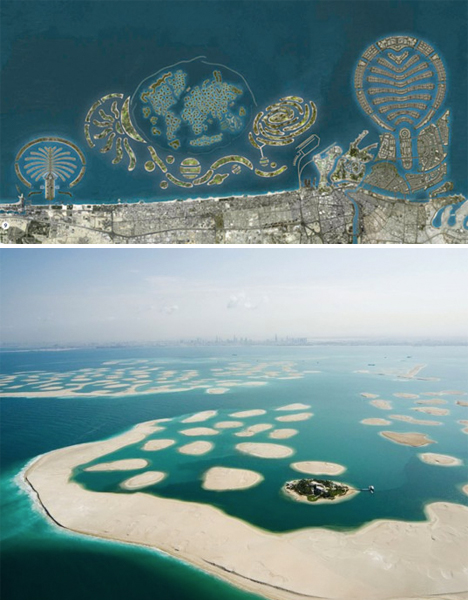 Abandoned Dubai World of Islands