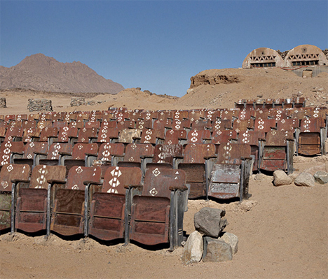 Abandoned Theater Egypt Desert 1