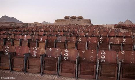 Abandoned Theater Egypt Desert 3