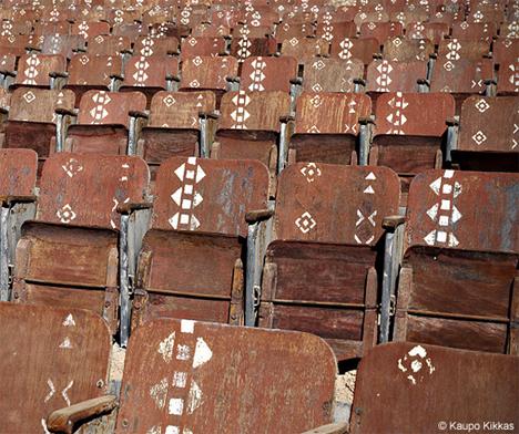 Abandoned Theater Egypt Desert 4