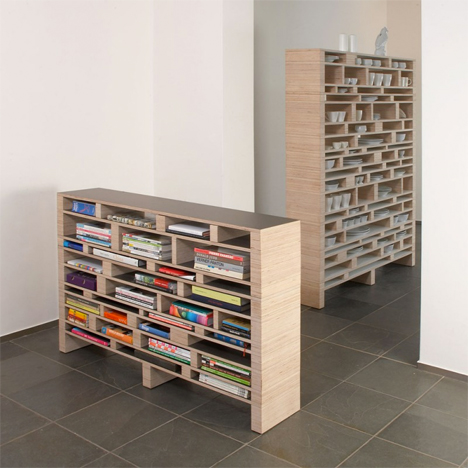 Bookshelf Room Divider reading room (dividers): 13 creative bookshelf designs | urbanist