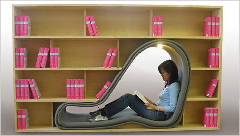 Bookshelf Room Divider Cave