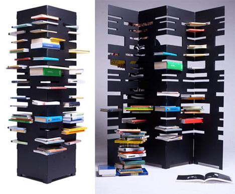Bookshelf Room Divider Vizzuso 1