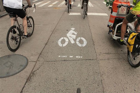 Crowdsourced City Bike Lanes