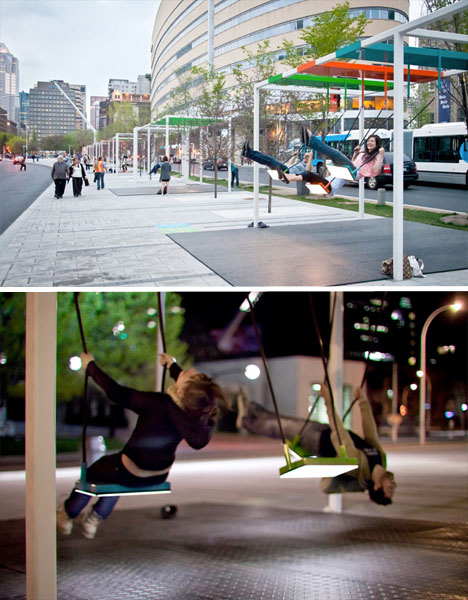 DIY Urbanism City Swings