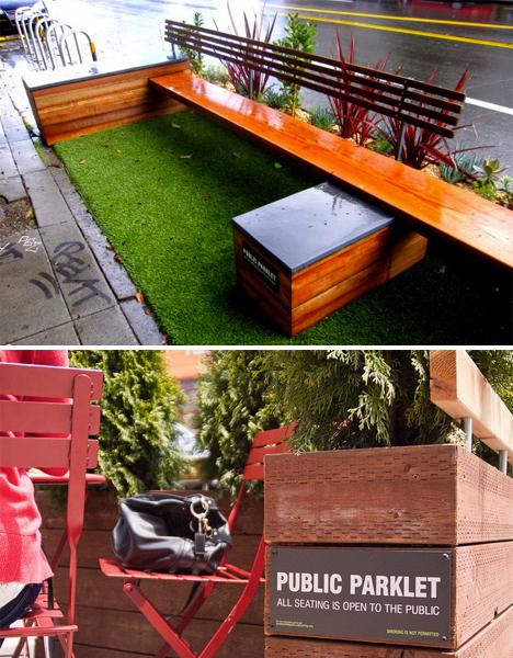 DIY Urbanism Parklets