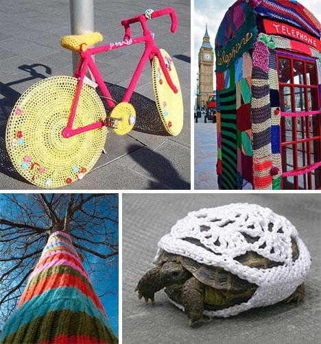 DIY Urbanism Yarnbombing