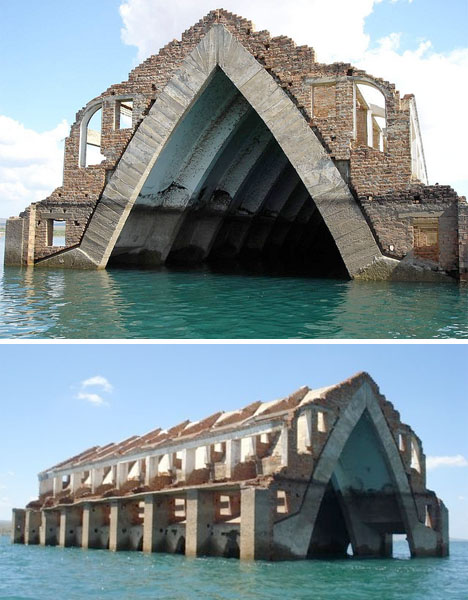 Drowned Towns 10 Underwater Ghost Cities Amp Buildings