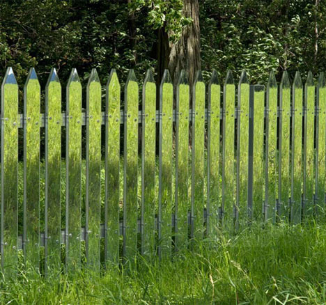 Mirrored Fence Illusion 1