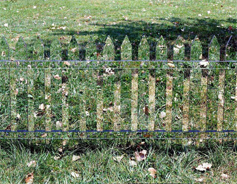 Mirrored Fence Illusion 3