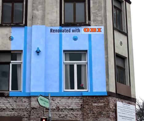 OBI Billboard Creative Advertising 1