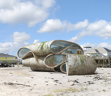 Surrealist Disaster Proof Architecture 2