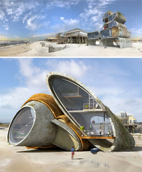 Surrealist Disaster Proof Architecture 3